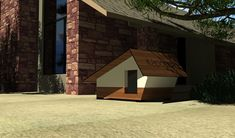 Kutyaház design Dog House_3