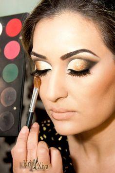Maquiagem de festa Kris Xiva