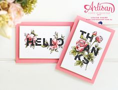 Louise Sharp | Be Inspired Blog Hop - My Favourite Stamp Set | Stampin' Up!