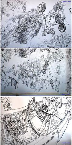 金政基/Kim Jung-Gi ✤ || CHARACTER DESIGN REFERENCES | キャラクターデザイン • Find more at https://www.facebook.com/CharacterDesignReferences if you're looking for: #lineart #art #character #design #illustration #expressions #best #animation #drawing #archive #library #reference #anatomy #traditional #sketch #development #artist #pose #settei #gestures #how #to #tutorial #comics #conceptart #modelsheet #cartoon #Kim #Jung #Gi #super #ani || ✤