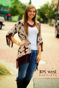 """The """"Pippa"""" Damask Cardigan! Available in S, M, L  for $34.25!!   Available at 105 West Boutique located in Abbeville, SC. (864)366-WEST. Shipping $5. Available In Store & Online!!! Find us on Facebook and Instagram!"""
