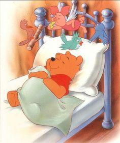 Pooh bear Winne The Pooh, Winnie The Pooh Quotes, Disney Winnie The Pooh, Pooh Bear, Tigger, Eeyore, Cute Cartoon Characters, Nighty Night, Cute Bears
