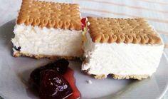 Frozen Desserts, Summer Desserts, Greek Recipes, Vanilla Cake, Tiramisu, Yogurt, Smoothies, Cheesecake, Food And Drink