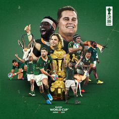 And South Africa wins it all in Japan! Congrats to the new Rugby World Cup champions! Top of the world for the South Africa Rugby, Africa Flag, Rugby Wallpaper, Cartoon Wallpaper, Go Bokke, Africa Tattoos, England Fans, Champions Of The World, All Blacks