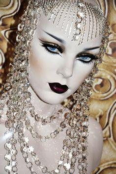 dramatic makeup | Tumblr