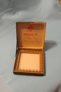 Vintage Weave It Loom in Original Box by AshleysSunroom on Etsy