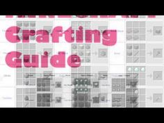 The Ultimate MineCraft Crafting Guide. Complete Tips & Hacks to multiplying your crafting efforts by 10x! http://www.youtube.com/watch?v=yta26iBdj8w