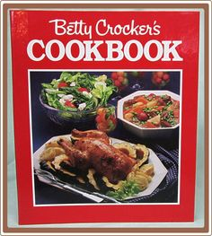 1986 Betty Crocker Cookbook First Prentice Hall Press Edition Ring Binder from Cobayley