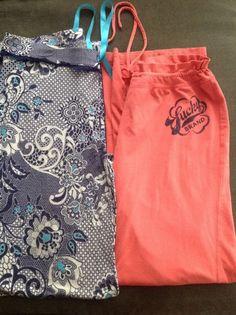 Cynthia Rowley Loungewear PJ Pants Vibrant Paisley & lucky brand pants medium #CynthiaRowley #LoungePantsSleepShorts $8.00 + $6.95 s/