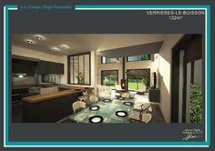 Modèle Verrières-le-Buisson - 132 m² http://diogo.fr/plans-maisons/plan/17/verrieres-le-buisson---132-m/  #maison #architecte #architecture #design #construction