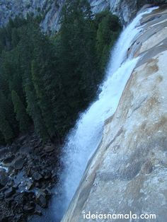 Topo da Vernal Falls - Yosemite
