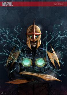 NOVA-Marvel- by Nid0deviantart.deviantart.com on @deviantART