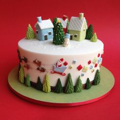 Hurry up, Santa is coming! Made by Sam, Cake Designer Classes