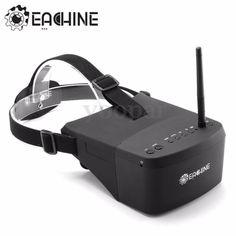 Eachine EV800 5'' 5.8GHz 40CH HD FPV VR Gafas Goggles Vídeo Búsqueda Automática - http://www.midronepro.com/producto/eachine-ev800-5-5-8ghz-40ch-hd-fpv-vr-gafas-goggles-video-busqueda-automatica/