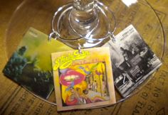 6 Steely Dan Album Cover Wine Charms for Music/Wine Lover 'YOUR wine glasses deserve Cool SASSY Jewelry'Fast Ship Great Gift for your BFF