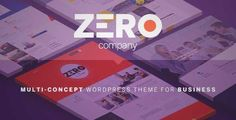 Download and review of Zero - Corporate Creative WordPress Theme, one of the best Themeforest Creatives themes