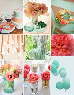 events uncorked: Color Me {Coral & Mint}