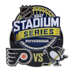 2017 NHL Stadium Series Dueling Pin - Flyers vs. Penguins