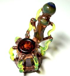 Glass Pipe Chad G Dry Sherlock Electroformed by LoudActions, $199.99