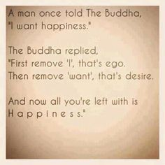 Buddha replied...