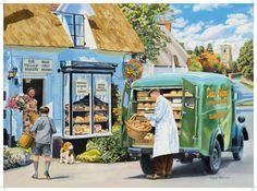 The Village Bakery - Copyright Trevor Mitchell