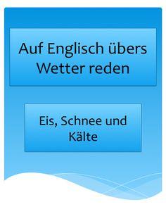 Englisch lernen: Vokabeln für Gespräche übers Wetter. Smalltalk auf Englisch.