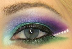 Image detail for -Peacock Eye Makeup - Beauty Plane - Beauty News, Photos, Videos, Blogs