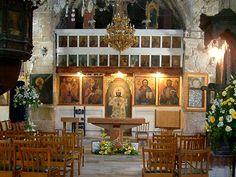 Ayia Kyriaki Church - Paphos, Cyprus - interior