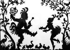 Lotte Reiniger. Papageno. Shadow Animation.