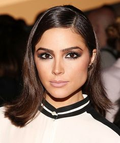 12 Celeb-Inspired Ways to Change-Up Your Lob Right Now - Olivia Culpo - from InStyle.com