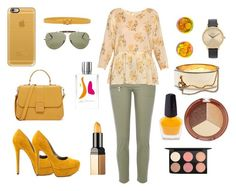 """""""Morning breakfast outfit"""" by sheikha-n-alzaabi on Polyvore featuring River Island, The Great, Michael Antonio, Ray-Ban, Casetify, Orciani, Nixon, Eddie Borgo, Chanel and MAC Cosmetics"""