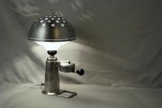jocundist: garbage become antique metal objects as modern lamps