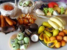 Miniature Clay Food by Michele Barrow-Belisle, via Behance