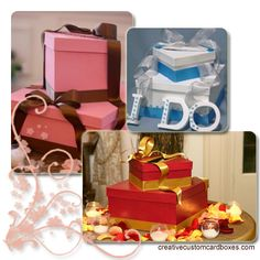 Unique Wedding Card Boxes | Creative Custom Cardboxes