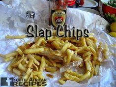 South African Recipes | SLAP CHIPS (TJIPS) (Limp fries)