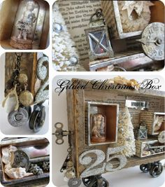 One Lucky Day: Gilded Christmas Box