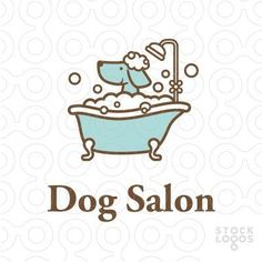 Dog Grooming – How Often Should You Clean That Dog? Dog Grooming Styles, Dog Grooming Shop, Dog Grooming Salons, Dog Grooming Business, Pet Shop, Dog Logo Design, Dog Spa, Dog Cafe, Dog Icon