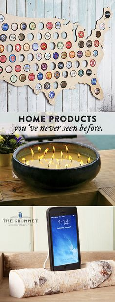 Discover unique home products. Decorate your space with innovative new finds you haven't seen before.