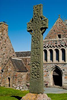 St. Martin's Cross, Iona Abby, Scotland