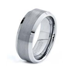 Tungsten Wedding Band Tungsten Ring Tungsten by GiftFlavors, $67.77