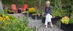 kjokkenhagen-moseplassen-3 Inside Outside, Outdoor Furniture Sets, Outdoor Decor, Pergola, Berries, Patio, Fruit, Vegetables, Flowers