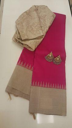 New Arrival Latest Designer Sarees Online Trendy Sarees, Fancy Sarees, Simple Sarees, Saree Blouse Patterns, Sari Blouse Designs, Silk Saree Kanchipuram, Kanjivaram Sarees, Saree Wearing, Saree Trends