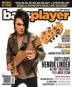Bass Player - October 2014 - Henrik Linder