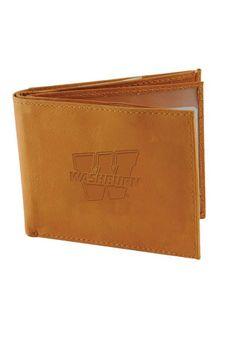 2b8e13993c6 Washburn Ichabods Leather Mens Bifold Wallet - 1647213