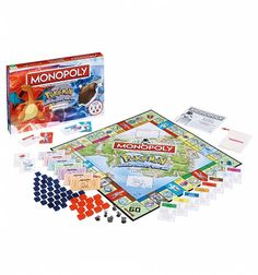 Pokemon Monopoly Game Set