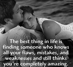 The best thing in life is finding someone who knows all your flaws...  #inspiration #motivation #wisdom #quote #quotes #life