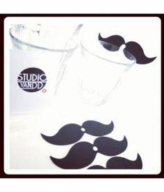 Moustache straws by #StudiovanDD
