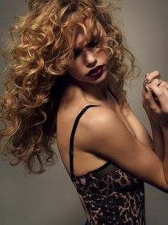 Amazing curls (Underprotection Lingerie AW14 Collection)