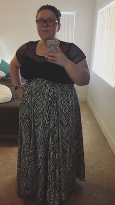 Today's outfit plus size.