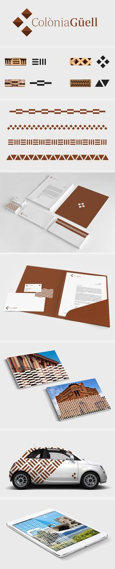 identity / Colonia Guell - cketch.com